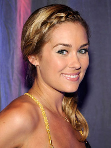 Astonishing Youth Tattoos Lauren Conrad Braided Ponytail Short Hairstyles Gunalazisus
