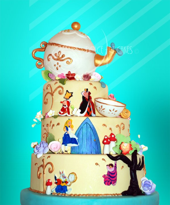 Alice&#039;s Adventure by Dolce Art Cakes