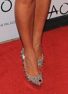 Kim Kardashian, pigalili shoe