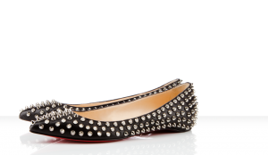 flat shoes with spikes