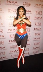 Kim Kardashian, Wonder Woman Costume