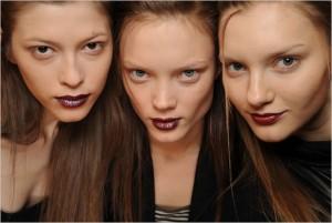 Vampire makeup, glampire