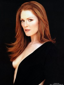 julianne moore, red hair