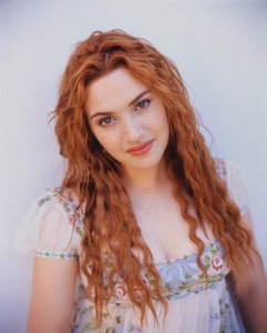 Kate Winslet, red hair