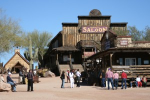 Goldfield AZ ghost town