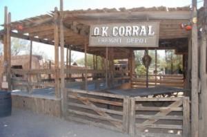 Tombstone AZ, OK Corral
