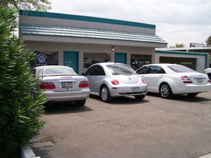 auto body shop