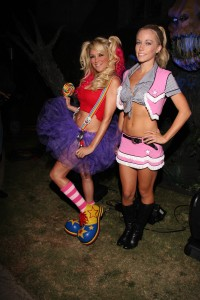 Kendra and Bridget, costume