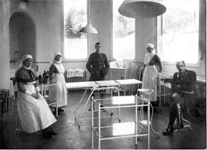World War 1, plastic surgery