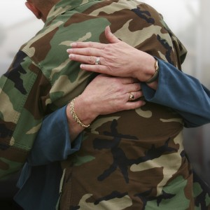 hug a soldier