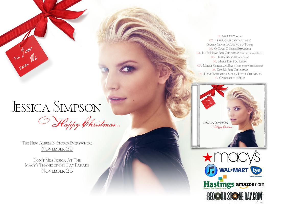 Jessica Simpson: Happy Christmas « BestOfBothWorldsAZ.com