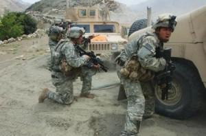 us soldiers combat