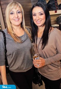 celebrity esthetician Kristy Harris and Stephanie Willis