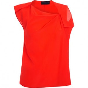 derek lam red shirt